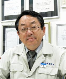 加藤建設株式会社 代表取締役 加藤仁